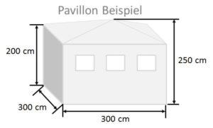 Pavillon Beispiel